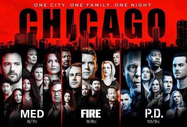 Chicago Med, Chicago Fire et Chicago PD tous renouvelés par NBC 1