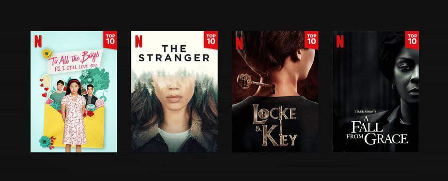 Netflix lance le Top 10, la nouvelle fonctionnalité pour suivre les tendances 3