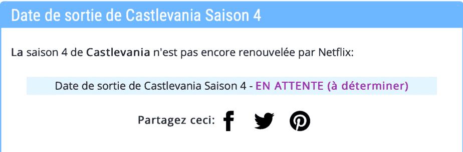 """Quand la saison 4 de """"Castlevania"""" commence-t-elle sur Netflix ? Date de sortie et nouvelles 2"""