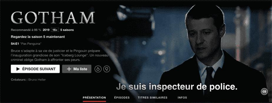 Gotham Saison5 est disponible sur Netflix 3