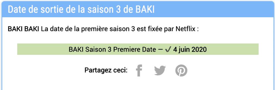 Netflix a-t-il renouvelé la saison 3 de BAKI ? Statut du renouvellement et nouvelles 2